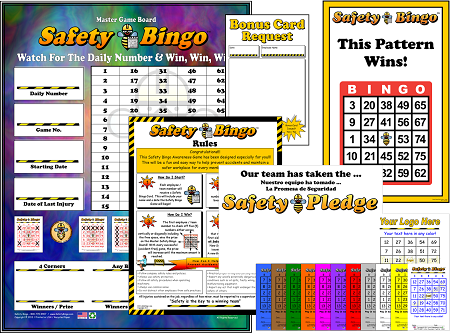 Safety Bingo Program with Admin Materials