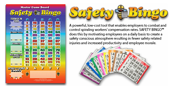 Welcome to Safety Bingo - Awareness Games for Every Workplace!