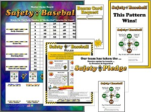 Safety Baseball Program with Admin Materials