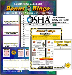 Bonus Bingo Program with Admin Materials