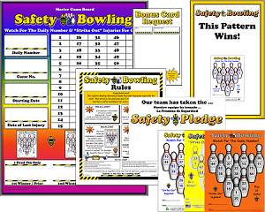 Safety Bowling Program with Admin Materials