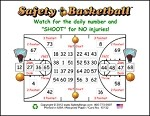 3x4 Basketball - Single Pack (100 Color Cards)