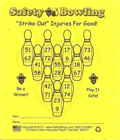 3x4 Bowling - Single Pack (250 BW Cards)