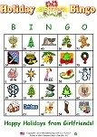 Girlfriends' Holiday Bingo