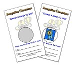 2x3 Recognition Scratchers (50 per pack)