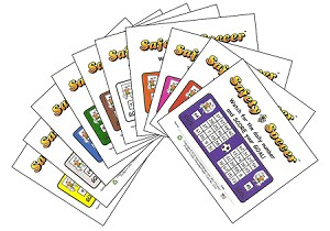 3x4 Soccer - Variety 10 Pk (1000 Color Cards)