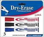 Dry Erase Markers (Set of 3)