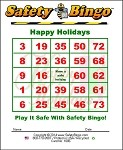 3x4 Happy Holidays 1pk (100 per pack)