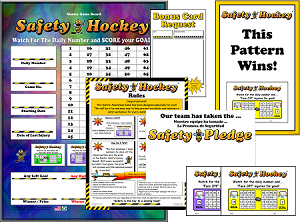 Safety Hockey Program with Admin Materials