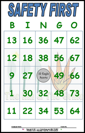 Inn Longwood Custom Bingo Card - Green