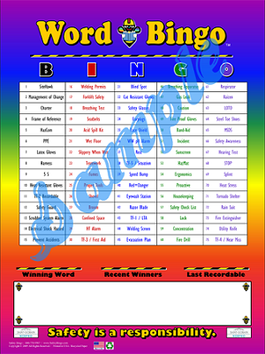 Word Bingo Program with Admin Materials
