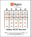 Nypro Custom Bingo Card