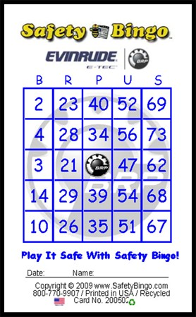BRPUS Custom Bingo Card