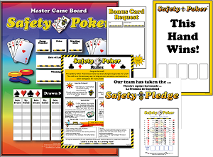 Safety Poker Program with Admin Materials