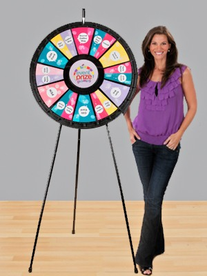 12-24 Slot Adaptable Floor Stand Prize Wheel