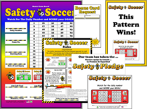 Safety Soccer Program with Admin Materials