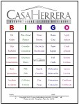 Casa Herrera Custom Word Card 4x5