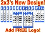 2x3 SAFTY BINGO - Case of 12 Pks (1200 Color Cards)