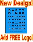 3x4 SAFTY BINGO - Single Pack (250 BW Cards)