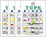 TOPS Bingo Cards