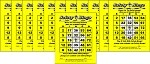 3x4 English / Spanish BINGO - Case of 12 Pks (3000 BW Cards)